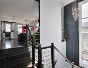 escalier maison neuve Saint-Romuald